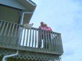 Harold's 81st - from the balcony